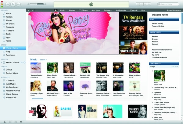 iTunes Store Login Apple ID Login